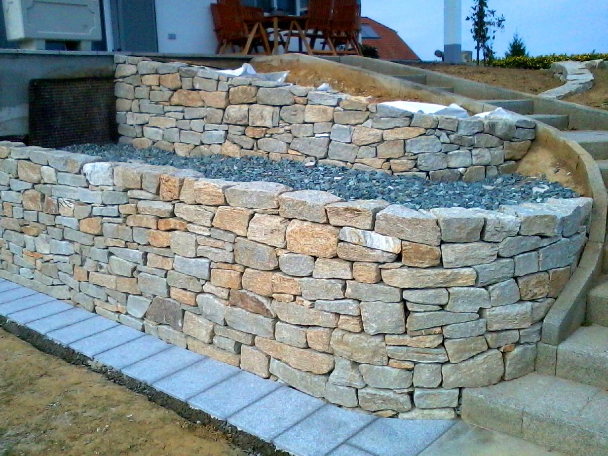 Mauergestaltung