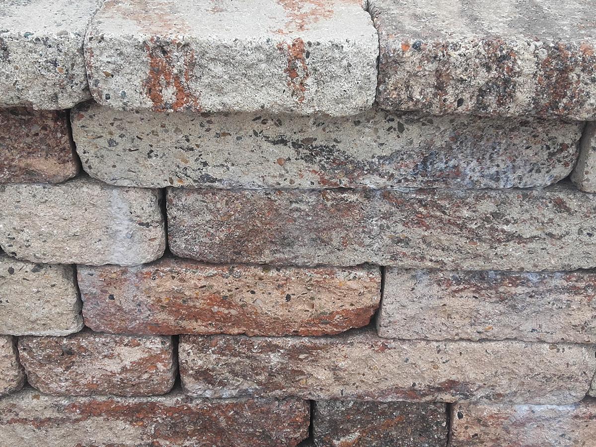 Kunststeinmauer